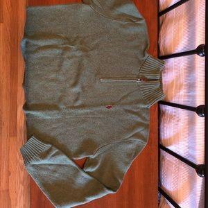 Polo Ralph Lauren Quarter Zip Mens Sweater